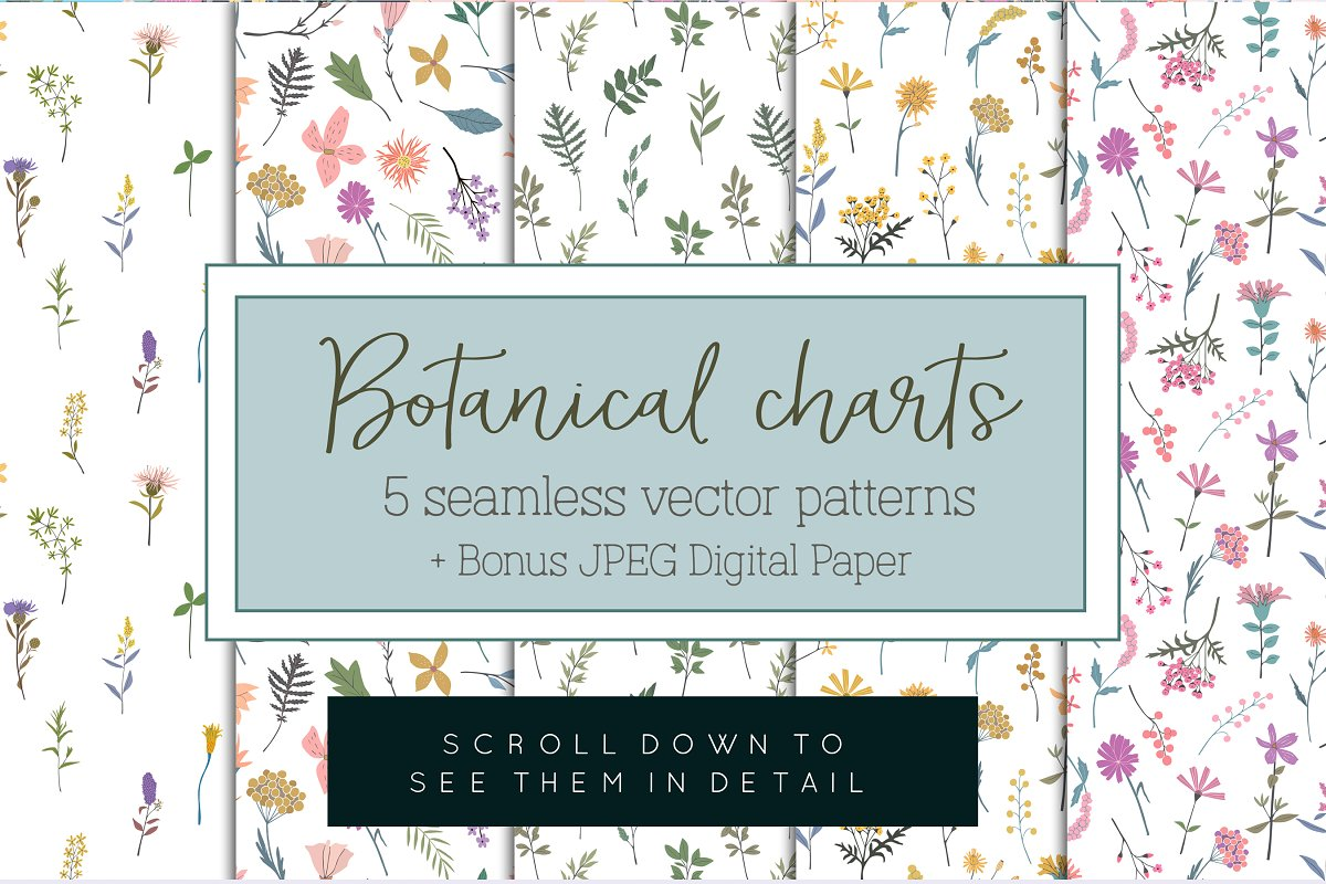 Best-selling patterns bundle in Patterns - product preview 5