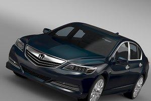 Honda Legend Hybrid 2015
