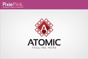 Atomic Logo Template