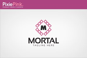 Mortal Logo Template
