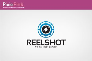 Reel Shot Logo Template