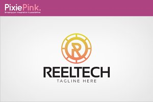 Reel Tech Logo Template