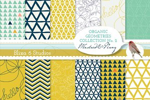 Organic Geometry Digital Papers No.2