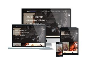 LT Photography One Page Joomla