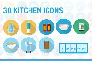 30 Kitchen Icons