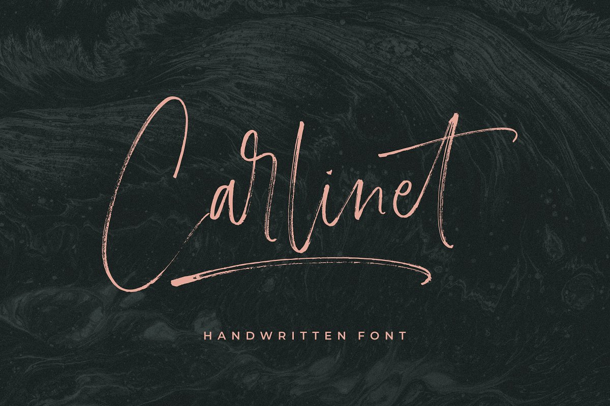 Carlinet Handwritten Font