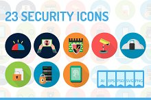 23 Security Icons
