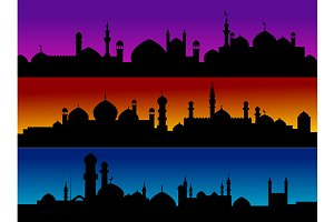 Mosque cityscapes