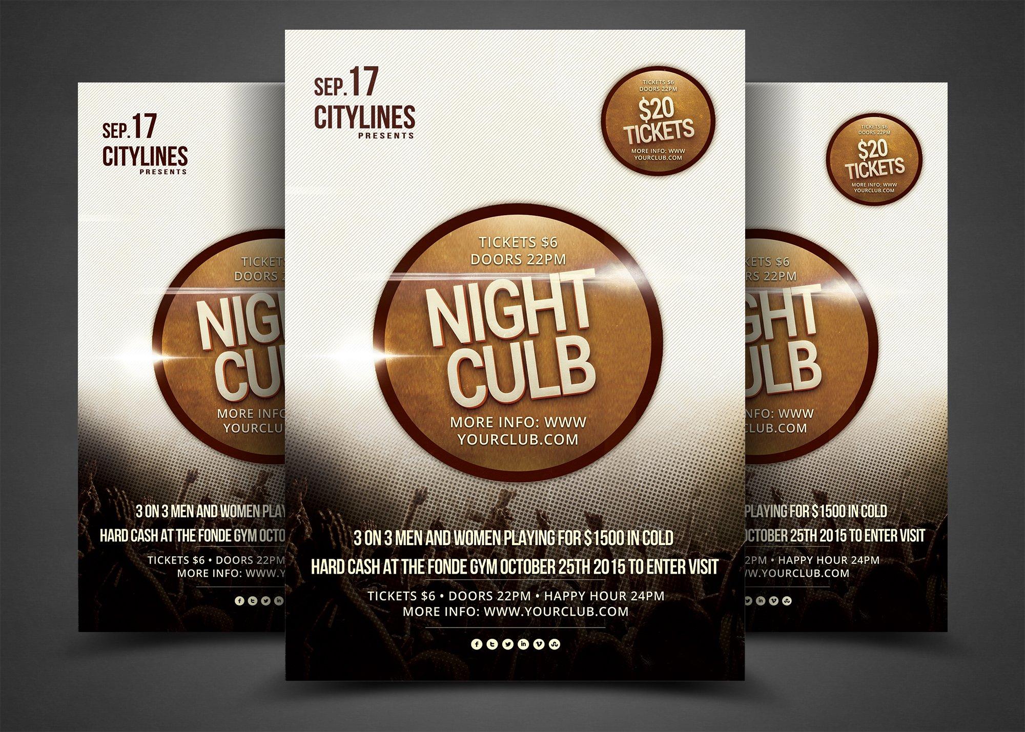 50 party flyers templates bundle flyer templates creative market