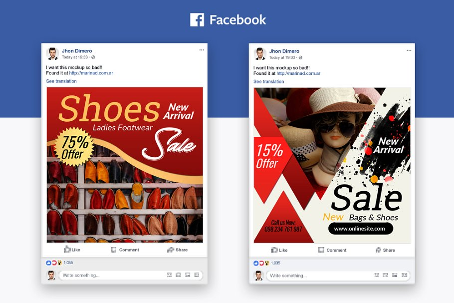 Sale Offer Facebook Post Banners
