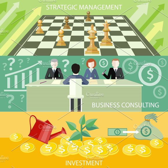 Strategic Management, Consulting in Illustrations