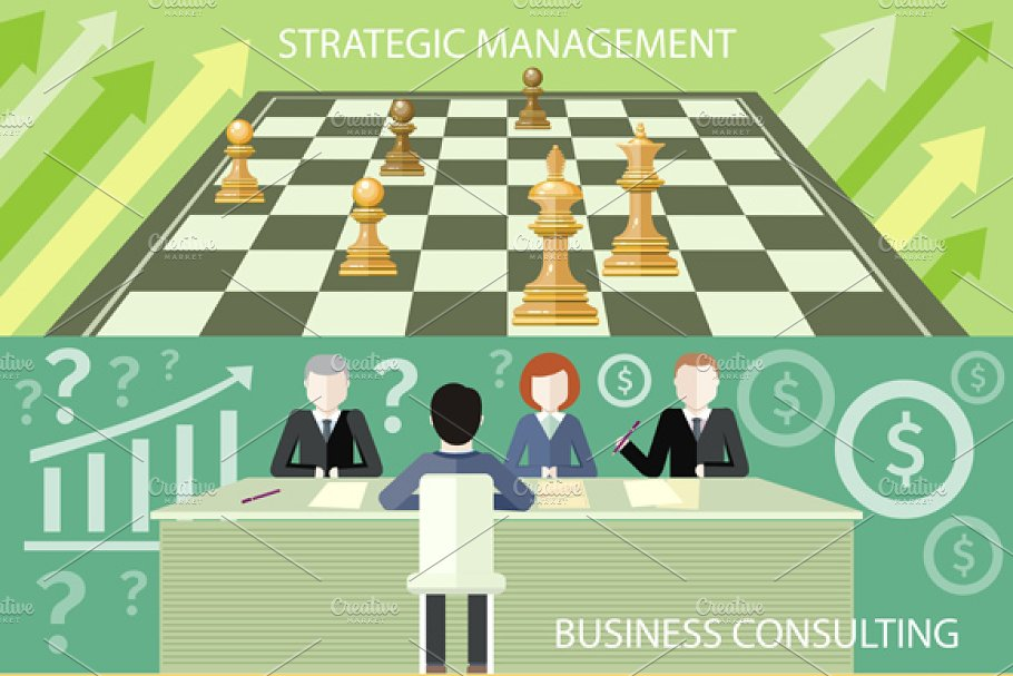 Strategic Management, Consulting in Illustrations - product preview 8