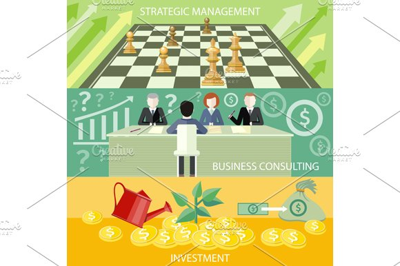 Strategic Management, Consulting in Illustrations - product preview 1
