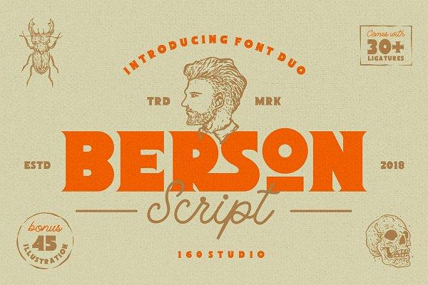 Berson Font Duo + Bonus