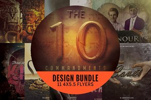 The Ten Commandments Flyer Bundle