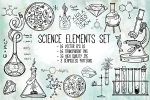 Science Elements Set