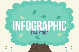 Infographic-Family Tree