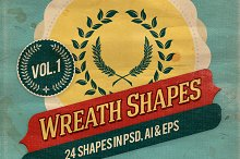 Wreath Shapes Vol.1