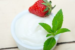 Greek organic yogurt and  strawberries 010.jpg