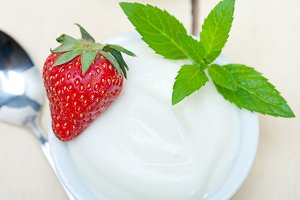 Greek organic yogurt and  strawberries 008.jpg