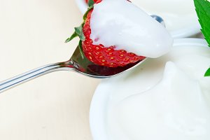 Greek organic yogurt and  strawberries 049.jpg