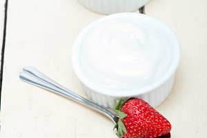 Greek organic yogurt and  strawberries 003.jpg