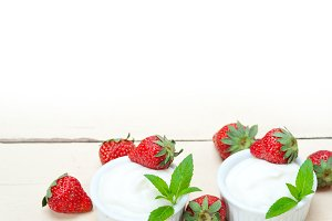 Greek organic yogurt and  strawberries 014.jpg