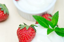 Greek organic yogurt and  strawberries 017.jpg