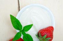 Greek organic yogurt and  strawberries 044.jpg
