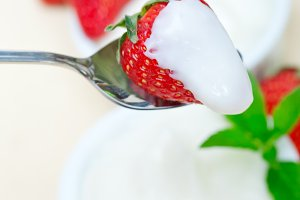 Greek organic yogurt and  strawberries 046.jpg