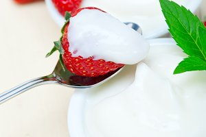 Greek organic yogurt and  strawberries 048.jpg