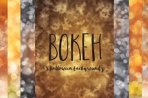 Halloween Bokeh Backgrounds