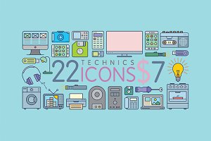 22 Amazing Appliances Icons