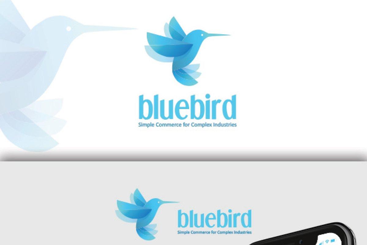 Blue Bird Premium Logo