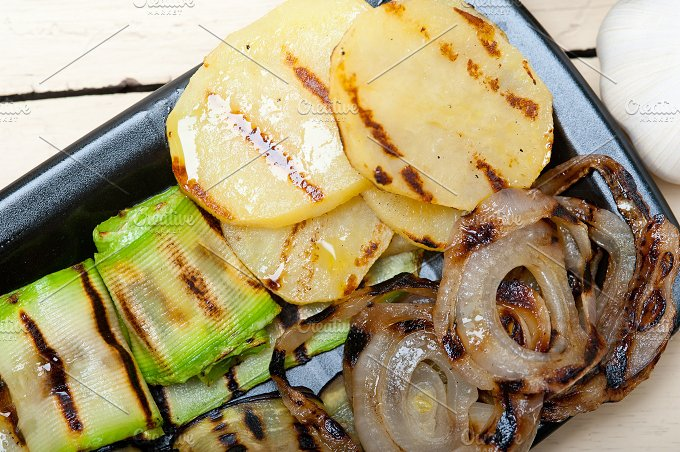 grilled vegetables 016.jpg - Food & Drink