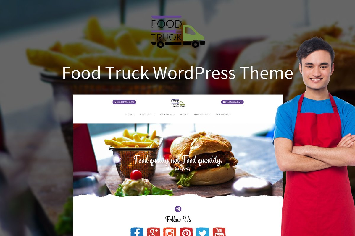 Ketchup - Food Truck WordPress Theme
