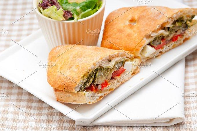 grilled vegetables and feta ciabatta sandwich 37.jpg - Food & Drink