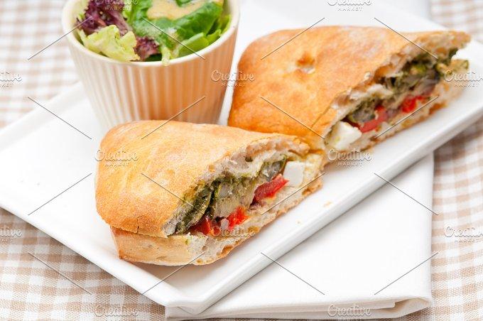 grilled vegetables and feta ciabatta sandwich 38.jpg - Food & Drink