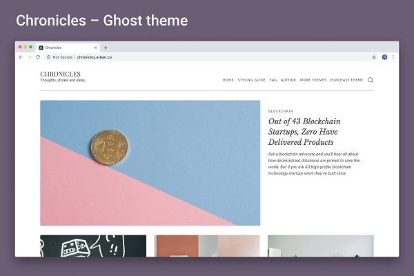 Chronicles – Ghost Theme