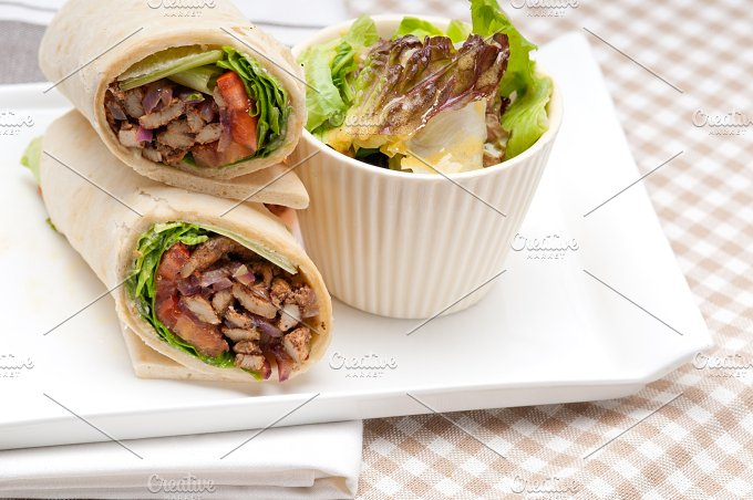 shawarma chichen arab pita wrap sandwich 21.jpg - Food & Drink