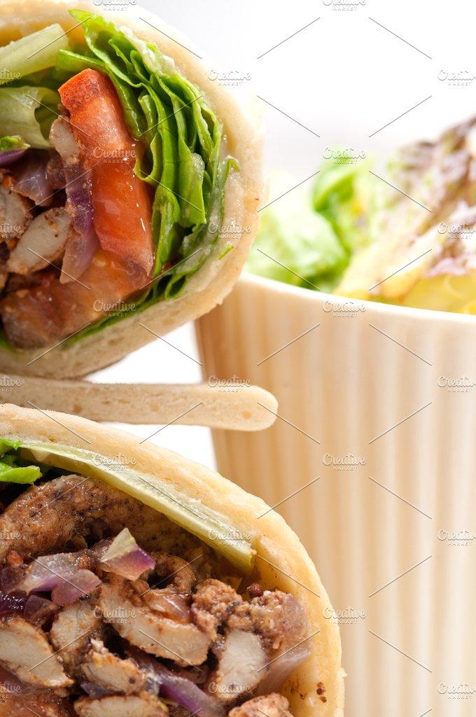 shawarma chichen arab pita wrap sandwich 22.jpg - Food & Drink