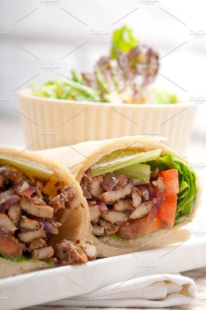 shawarma chichen arab pita wrap sandwich 28.jpg - Food & Drink
