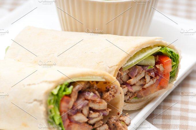 shawarma chichen arab pita wrap sandwich 33.jpg - Food & Drink