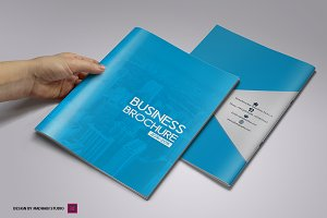 Business Brochure 12 Page Teamplate