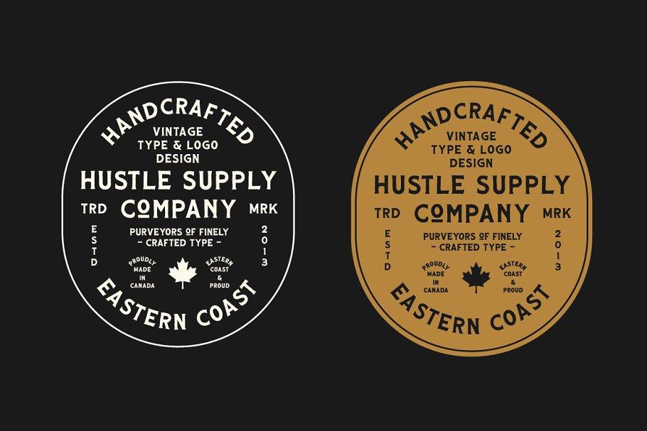 HUSCON - A Vintage Spur Serif