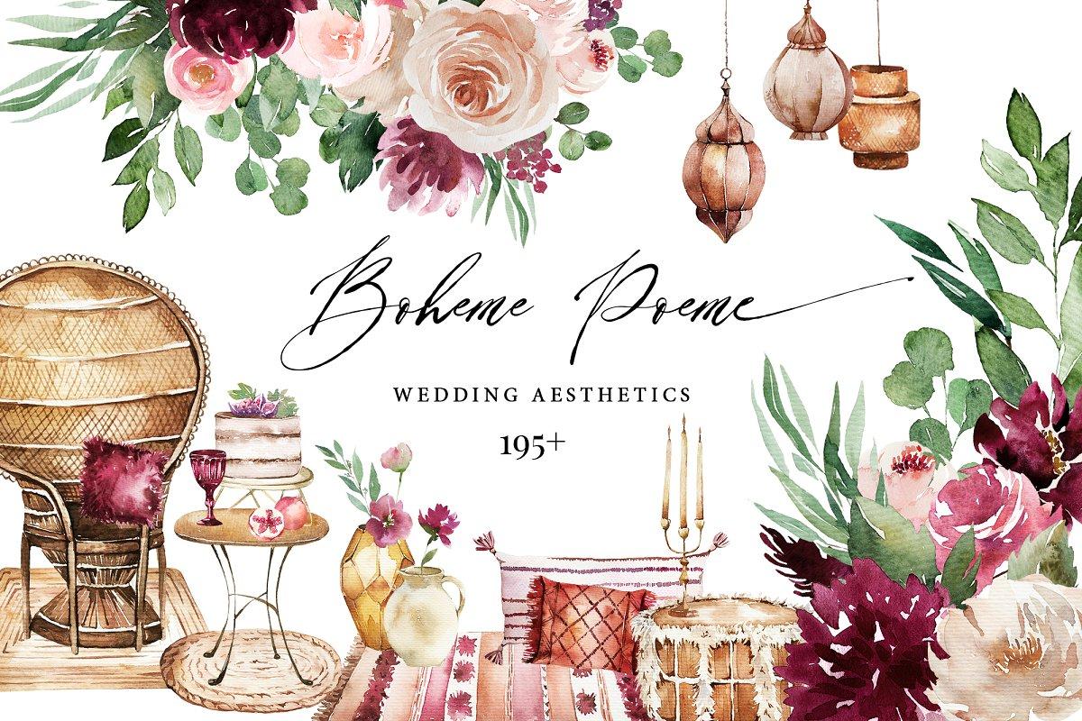 Boheme Poeme Wedding Aesthetics