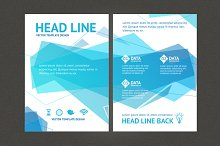 Geometric Wave Brochure Flyer Design