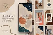 #InstaCool Instagram Story Templates by  in Social Media