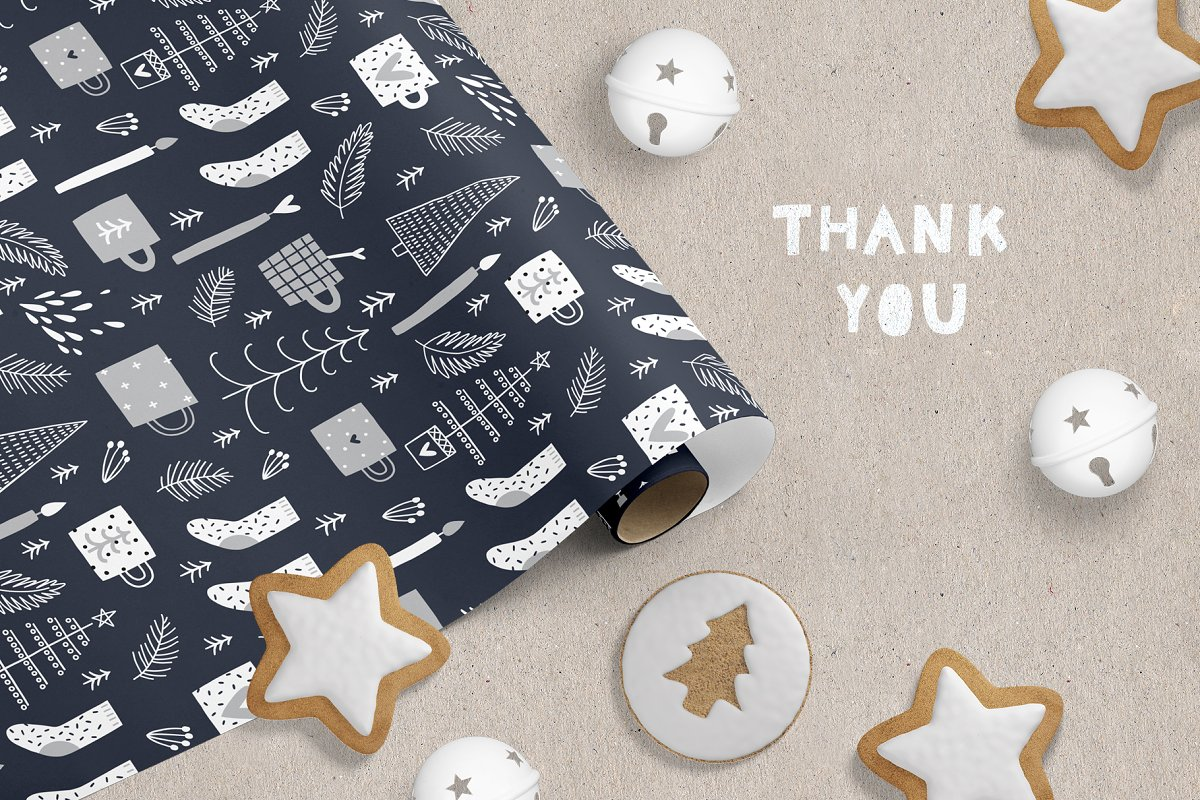 Hygge - Christmas Cards & Patterns in Illustrations - product preview 9
