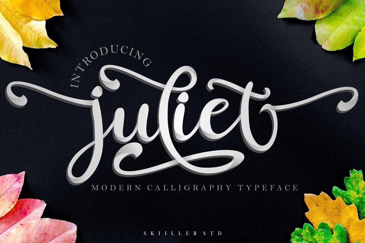 juliet modern script